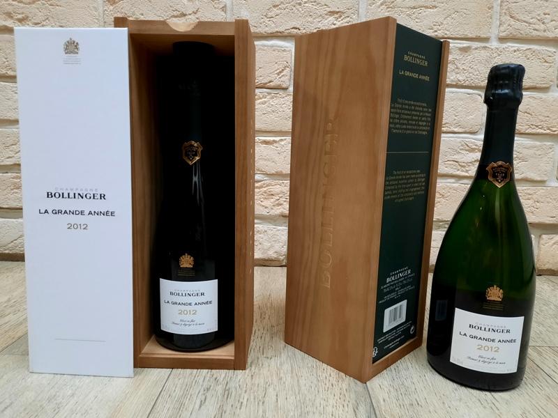 bollinger 2012 grande annee champagne \ болингер 2012 боланже шампанское цена