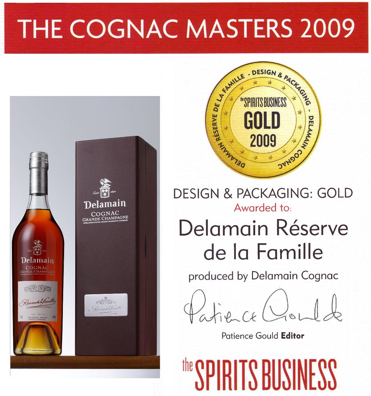 cognac 60 let delamain - famille reserve - gold medal / коньяк 60 лет