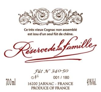 Этикетка коньяк 60 лет выдержки: Деламен - Резерв де ля Фамий / Reserve de la Famille - Delamain Cognac 60 / купить цена доставка магазин москва