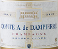 Dampierre Champagne - Grand Cuvee / шампанское Дампьер - Гран Кюве