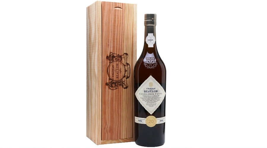 pineau-collection-privee-1982-or-chateau-de-beaulon / 20 yo / Пино де Шарант 20 лет выдержки, белое - сделано в Шато де Булон