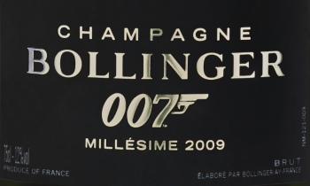 Spectre Bollinger 007 - шампанское агента Джеймса Бонда купить в Москве винтаж 2009 года