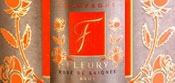 Розе де Саньи - шампанское Флери I Rose de Saignee - Fleury Champagne